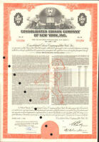 Consolidated Edison Company New York stock certificate