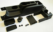 VW JETTA GOLF MK4 CENTER CONSOLE KIT SET GLI GTI BORA A4 NEW BLACK ORIGINAL OEM