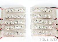 10 x Blanc 12V SMD 6 Feux de Gabarit LED Feux Latéraux LED pour Remorque Camion