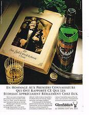 PUBLICITE ADVERTISING 034   1986   GLENFIDDICH     scotch whisky