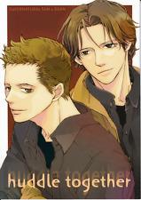 Supernatural Doujinshi Comic Manga Cathexis Sam x Dean huddle together