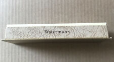Vintage Waterman Fountain Pen Box Only