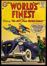 DC Worlds Finest # 92 Superman Not Cgc Comic Golden Age 1958