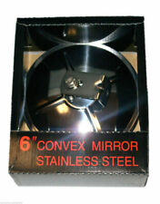 "Big Rig 6"" Convex Mirror Stainless Steel"
