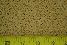 By 1/2 Yd, Calico on Tan, Quilting, Kansas Troubles Quilters, Moda, M7100