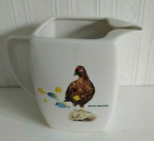 THE FAMOUS GROUSE WHISKY JUG BY CASTLE CERAMICS IN NICE CONDITION SEE PHOTOS