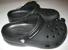 Boy's Kids Classic Crocs 2 Black New NWT MSRP $27.99 10006-001