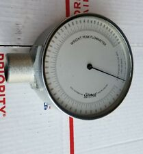 Vintage Wright Peak Flow Meter