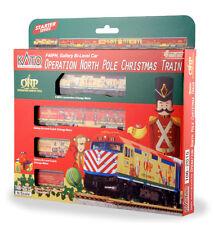 Kato N Operation North Pole Christmas Train Set (2015) Model: 106-2015