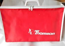 Vintage Airline Small Travel Bag Case Thomson 1960's Made in England