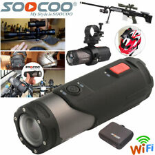 WIFI HD 1080P Sports Action Camera Bike Helmet CAM Waterproof For Shotgun SOOCOO