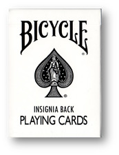 Bicycle Insignia Back (White) Playing Cards Poker Playing Cards Cardistry