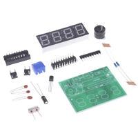 C51 4 Bits Digital Electronic Clock Electronic Production Suite DIY Kits