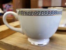 homer laughlin eggshell nautilus greek key tea cup