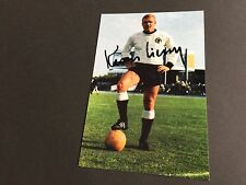 KLAUS-DIETER SIELOFF DFB †2011 In-Person signed Photo 10x15