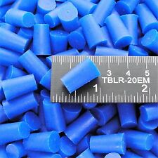 "(250) 11/32"" x 7/16"" High Temp Silicone Rubber Powder Coating Plugs Cerakote"