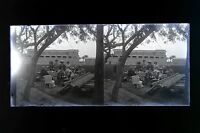 Europeo Egitto Placca Da Lente Stereo Negativo Ca 1925 n2