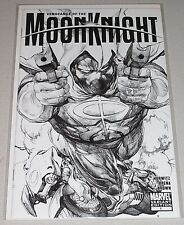 Vengeance Of The Moon Knight #1! (2009) 1:50 Leinil Yu Sketch Variant! NM!