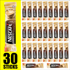 NESCAFE 3 in 1 White Coffee Oh So Creamy, Instant Coffee, 30 sticks, BB 02/28/21