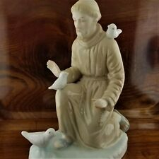 Vintage 1981 Saint Francis of Assisi Porcelain Figurine By RR Roman