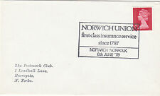 (33816) GB CLEARANCE Cover Norwich Union Insurance 6 June 1979