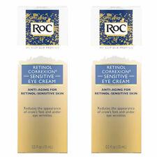 (2 Pack) RoC Retinol Correxion Anti-Aging Eye Cream for Sensitive Skin 0.5 Fl Oz