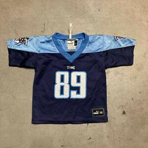 Puma Tennessee Titan Frank Wycheck #89 Kid's Jersey b15