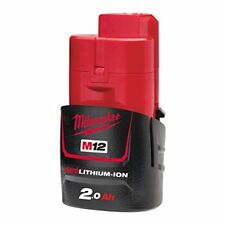 Batterie Milwaukee 12 V et 2 AH Red Li-ion M12b2 - 4932430064