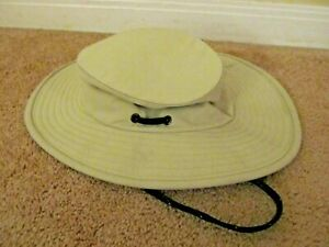 The Tilley Hat Size 7 1/4 Beige Khaki Canvas Survival Outdoors