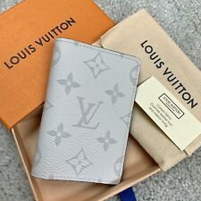 Louis Vuitton Pocket Organizer M30315 Taigarama White Blanc