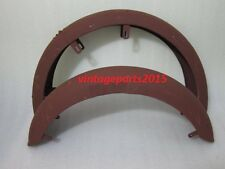 PANTHER M100 RAW STEEL FRONT AND REAR MUDGUARD SET (REPRODUCTION)