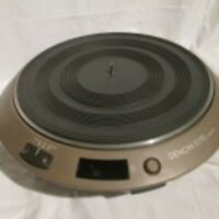 DENON DP1000 Turntable DJ Music Club Servo Direct Drive Shipping From Japan Used