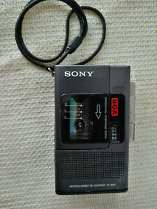 VINTAGE SONY MICRO CASSETTE TAPE RECORDER M-88V For Parts or Repair