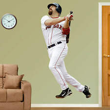 "KEVIN YOUKILIS RED SOX 6'5""X3'5"" (lifesize only) FATHEAD REAL BIG wall graphics"