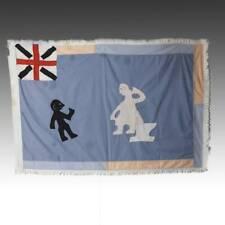 FRANKAA ASAFO MILITARY WARRIOR FLAG COTTON APPLIQUE FANTE GHANA WEST AFRICA