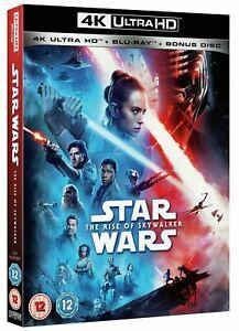 Star Wars The Rise of Skywalker (4K Ultra HD + Blu-Ray) + Slip Cover