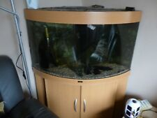 Juwel Trigon 190 Litres Corner Fish Tank with Cabinet, filter, heater & fish.