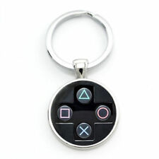 PlayStation Controller Button Keyring Keychain Console Gift Video Game - UK