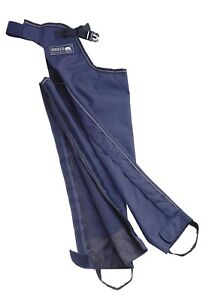 SHIRES FULL LENGTH CHAPS COTTON LINED WATERPROOF LEG OVERTROUSERS HORSE RIDING