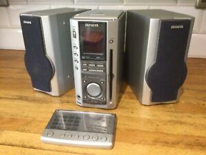 Aiwa XR-MS3 CD Player Tape Deck FM/AM Digital Radio,faulty tape read description