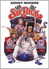 SIX PACK DVD (1982) - Widescreen - Kenny Rogers - Diane Lane