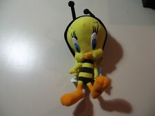"10"" plush Bumble Bee Tweety Bird doll, good condition"