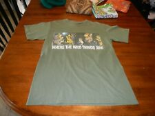 vintage where the wild things are t shirt mens small