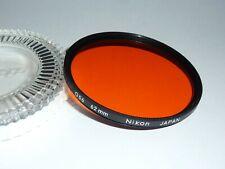 Nikon  Orange  056  62mm   E62