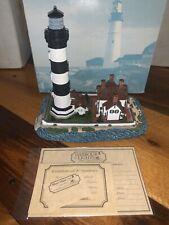 Morris Island Then South Carolina 189 Harbour Lights 1996 Lighthouse Coa Nb