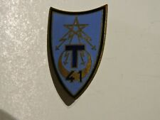 INSIGNE BADGE 41eme REGIMENT DE TRANSMISSION
