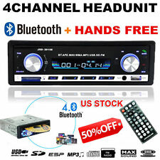 Bluetooth Car Stereo Audio In-Dash FM Aux Input Receiver SD USB MP3 Player US