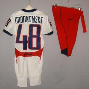 Rob Gronkowski Nike Arizona Wildcats Game Issue Uniform Jersey & Pants