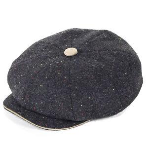 Whiteley Hats Newsboy - Charcoal/Sable