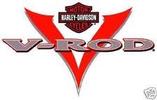 HARLEY DAVIDSON  V ROD DECAL (XL) 9 INCH DECAL